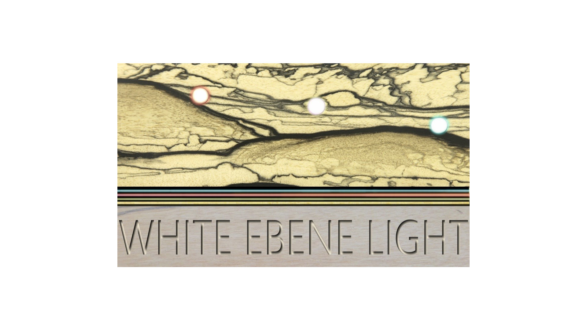 WHITE EBENE LIGHT (Carte de visite)